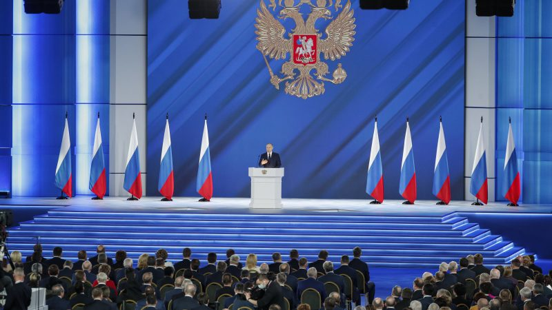 Putin Warns Nations of 'Crossing Red Line' with Russian Federation