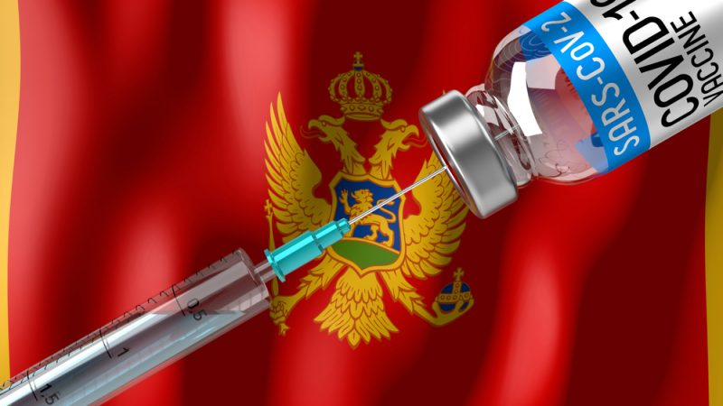 Image 1.5% of Montenegrin population vaccinated in one day
