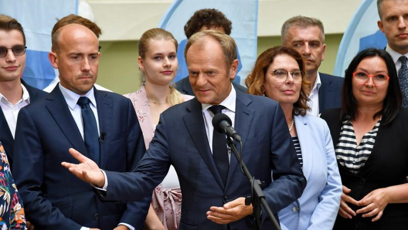 Tusk offers PiS a chance to eliminate Polexit